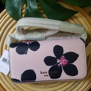 Small Flap Crossbody Kate Spade Grand Flora Pink